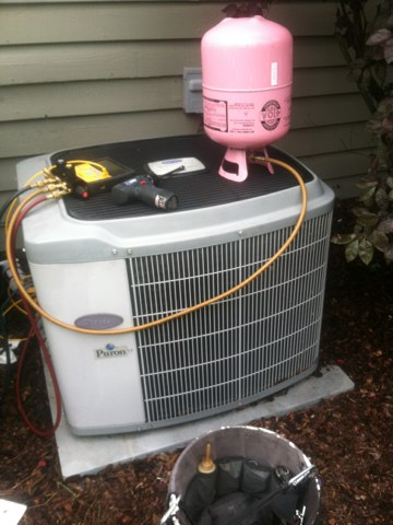 Fishers, IN - Repairing a carrier air conditioner