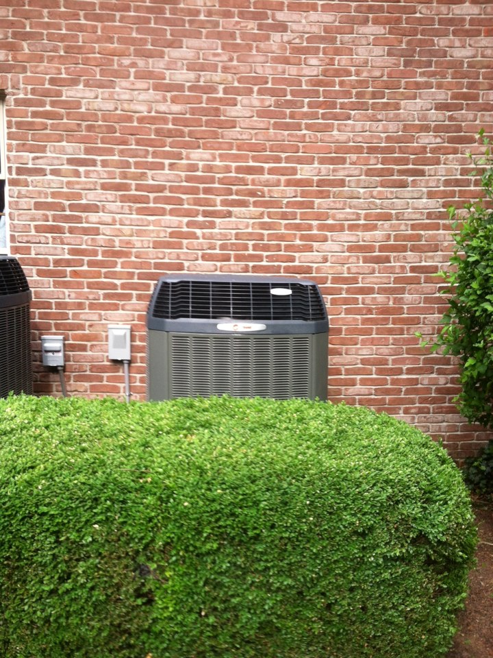 Mooresville, IN - Installed air handler heat pump and eac