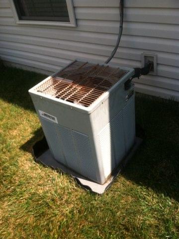 Brownsburg, IN - Repairing Trane air conditioner