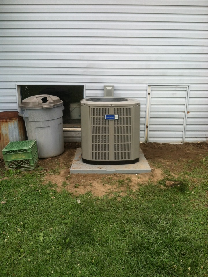 Danville, IN - Installed ac and coil