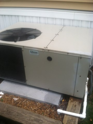 Greencastle, IN - Repairing a Gibson air conditioner