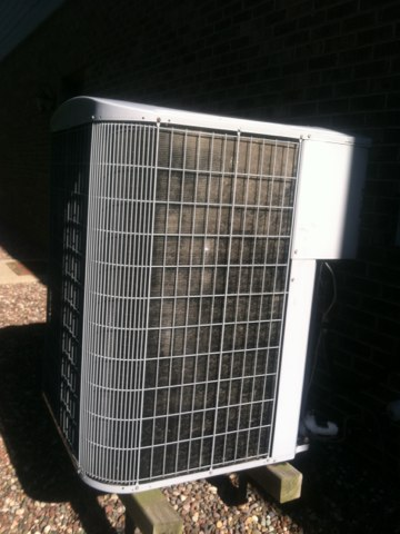 Carmel, IN - Repairing a carrier air conditioner