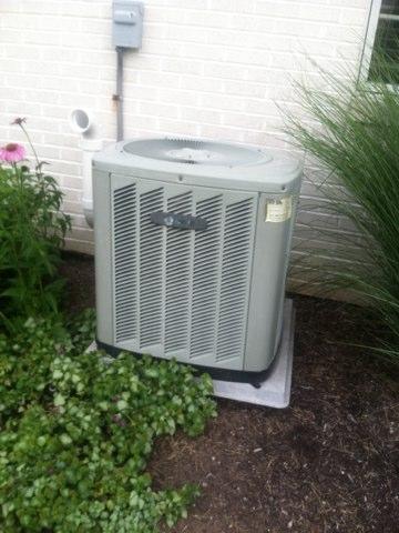 Brownsburg, IN - Repairing a Trane air conditioner