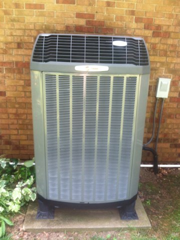 Avon, IN - Repairing a Trane air conditioner