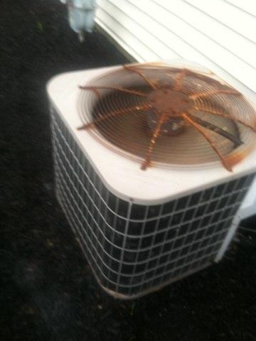 Carmel, IN - Repairing a Bryant air conditioner