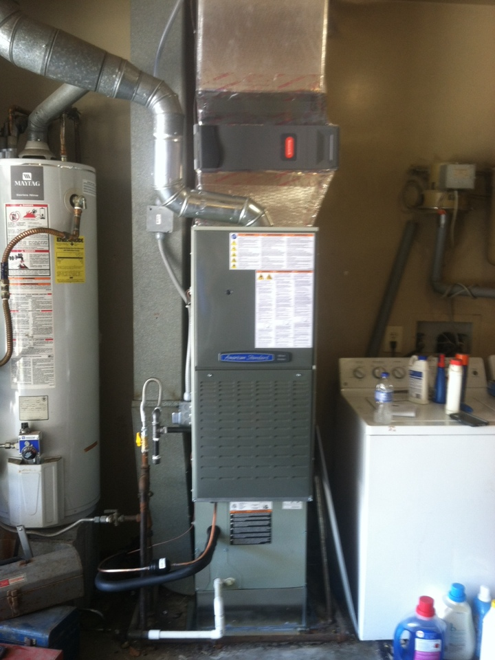 Indianapolis, IN - Installed 80 percent furnace and ac