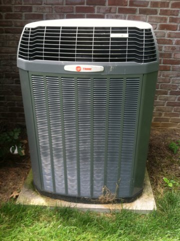 Danville, IN - Repairing a Trane air conditioner