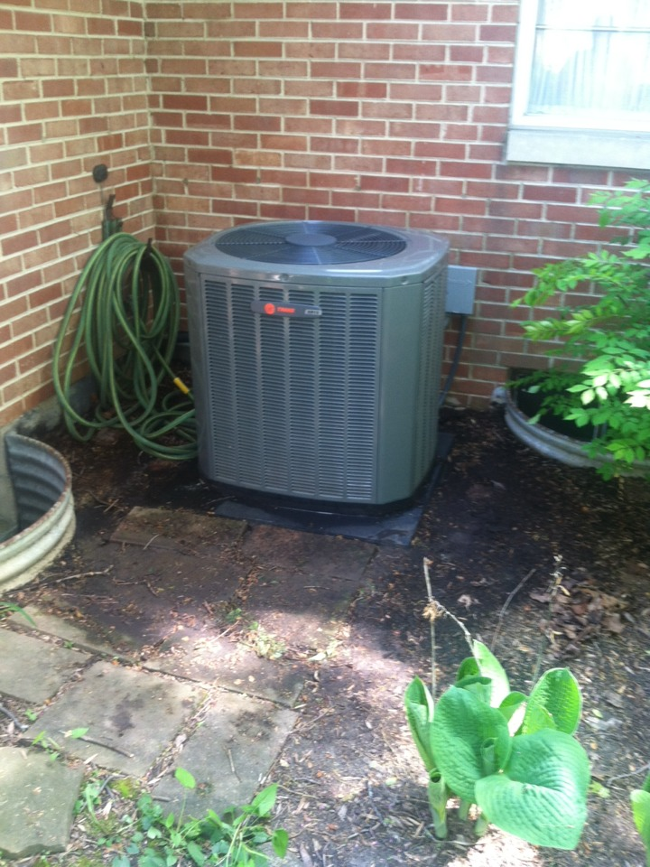 Danville, IN - Ac tune up on trane equipment two system