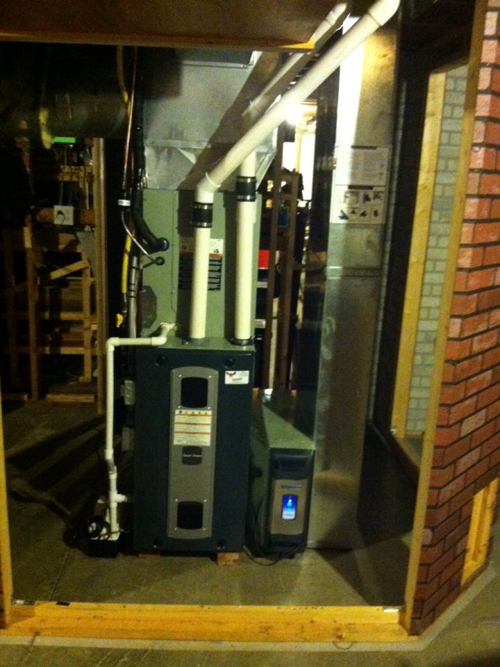 Coatesville, IN - Installed new system