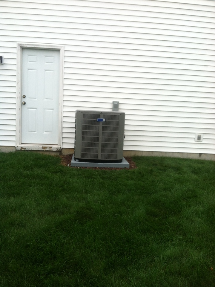 Noblesville, IN - Installed 90 percent furnace ac and humidifier