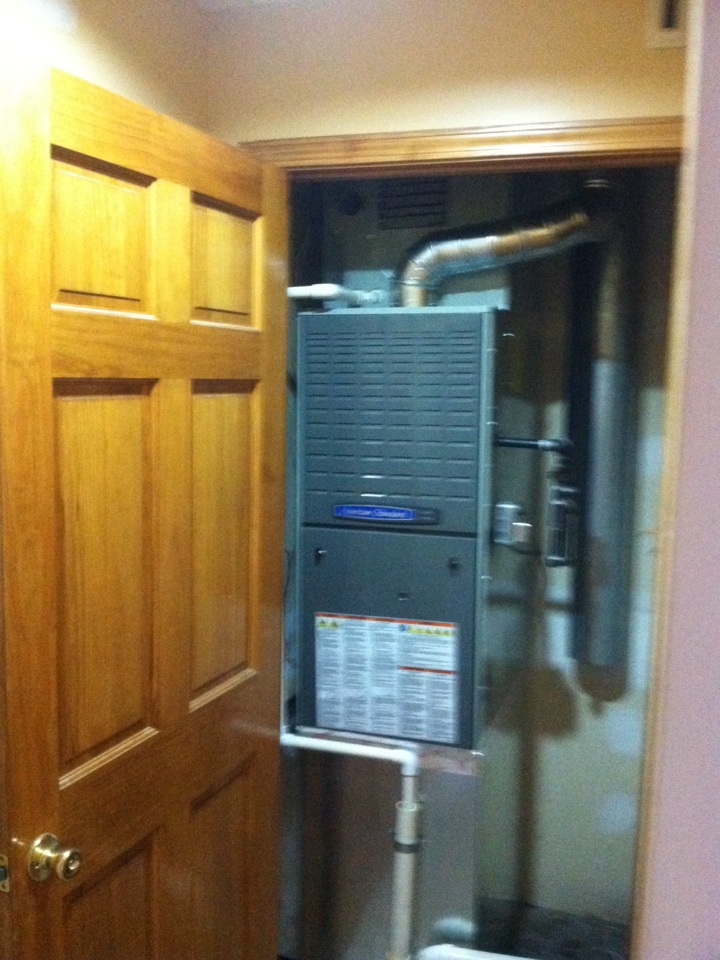 Brownsburg, IN - Installed new system