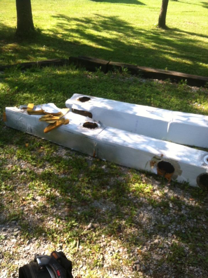 Brownsburg, IN - Water damaged crawl duct repair Bassett Services