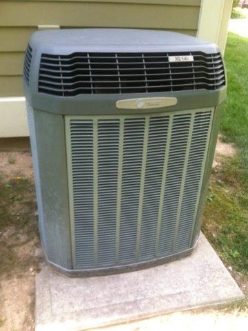 Carmel, IN - Repairing a Trane  air conditioner