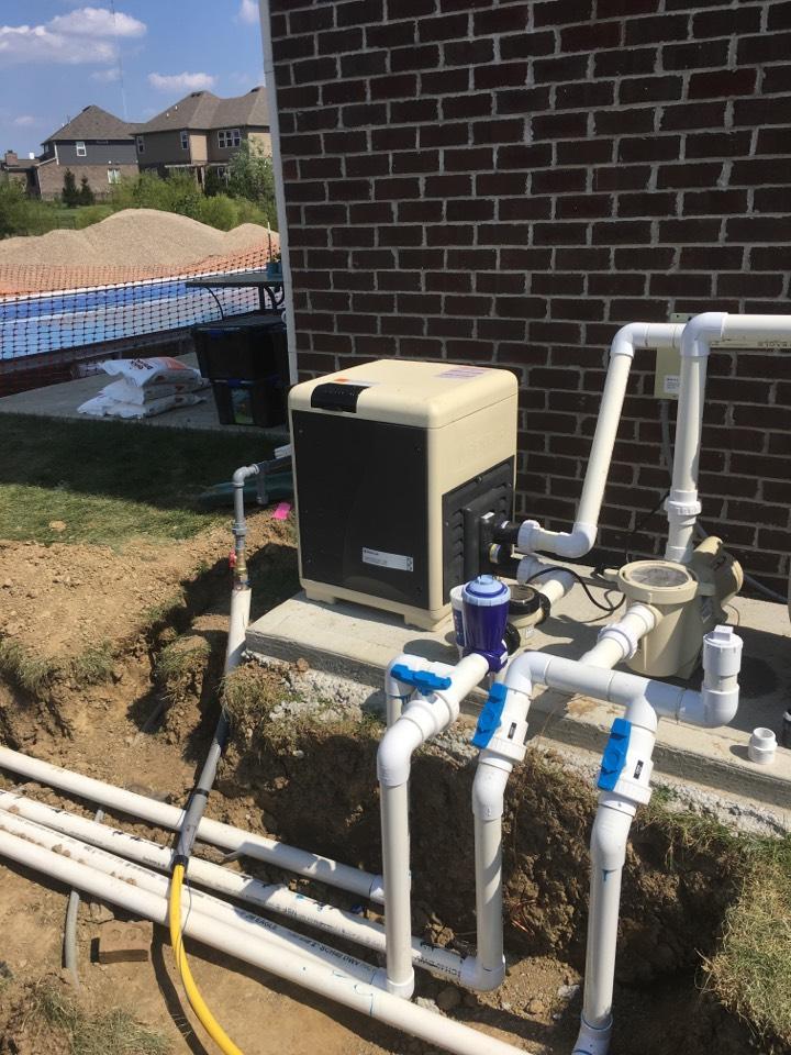 Carmel, IN - Service call repair on Pool heater.