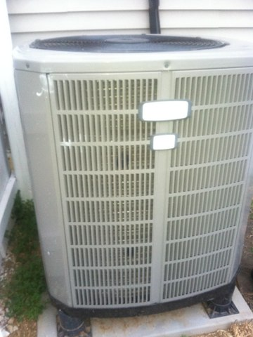 Monrovia, IN - Repairing a American Standard air conditioner