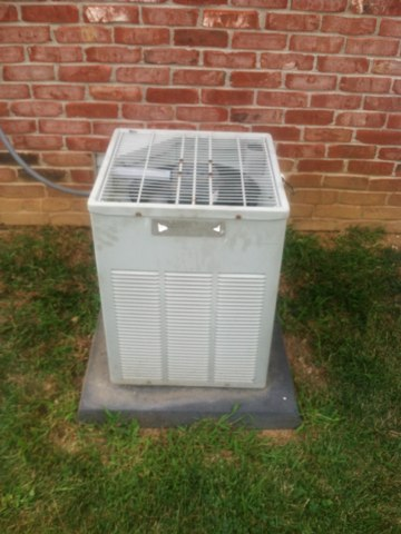 Avon, IN - Repairing a Trane air conditioner
