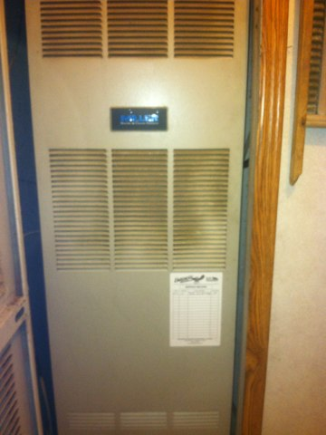 Quincy, IN - Repairing and servicing a Miller gas furnace