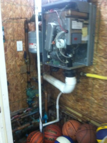 Lizton, IN - Repairing and servicing a Boiler gas furnace