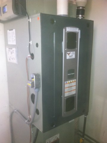 Pittsboro, IN - Repairing and servicing a American Standard gas furnace