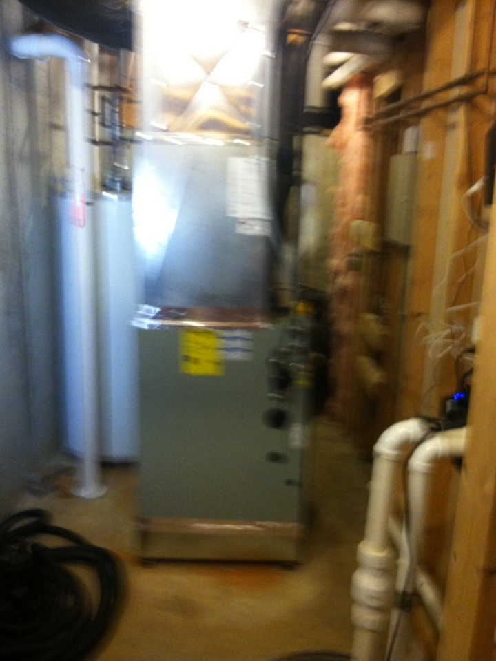 Fishers, IN - Installed new furnace