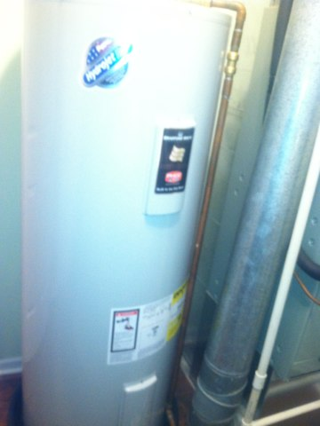 Fishers, IN - Repairing and servicing a Waterfurnace geothermal