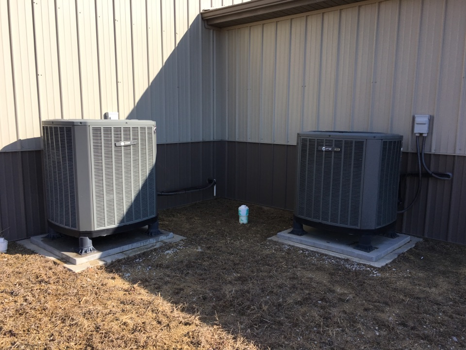 Monrovia, IN - Annual heating tuneup and preventative maintenance on Trane heatpump.