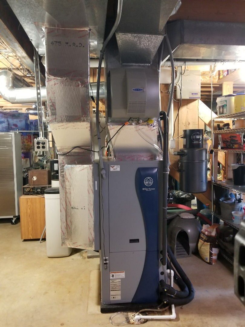 Martinsville, IN - Installed geo thermal and a powered water heater