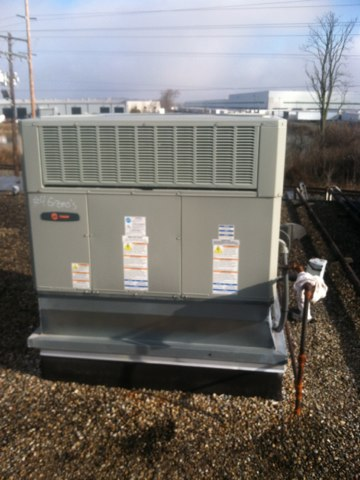 Brownsburg, IN - Repairing and servicing a American Standard gas furnace