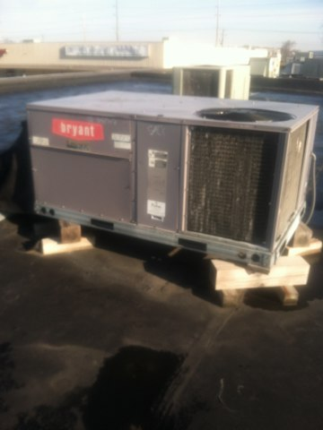 Brownsburg, IN - Repairing and servicing a Bryant gas furnace