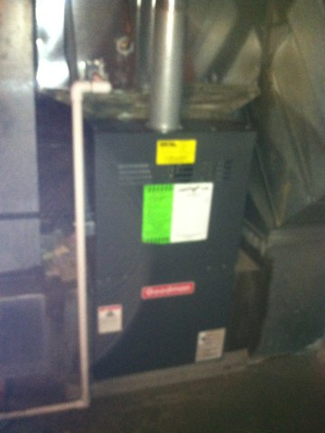 Indianapolis, IN - Repairing and servicing a Goodman gas furnace
