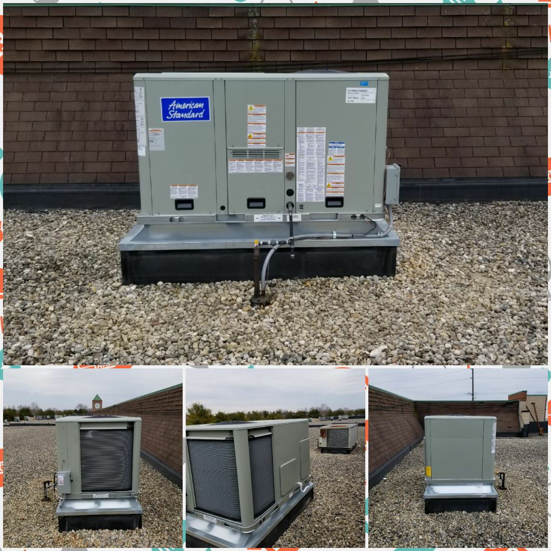 Plainfield, IN - Installed roof top unit