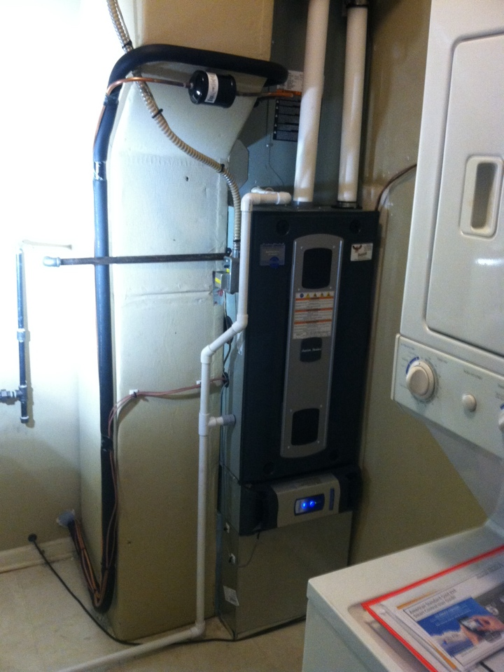 Zionsville, IN - Installed new system