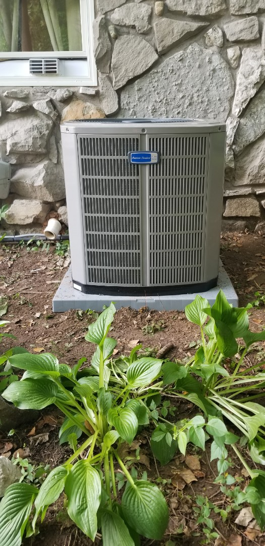 Coatesville, IN - Installed American standard 90% furnace ac and coil