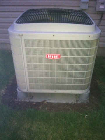 Avon, IN - Servicing and repairing a Bryant air conditioner and heat pump