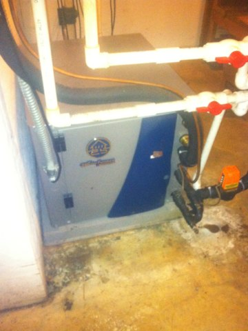 Indianapolis, IN - Repairing a Waterfurnace heat pump and air conditioner