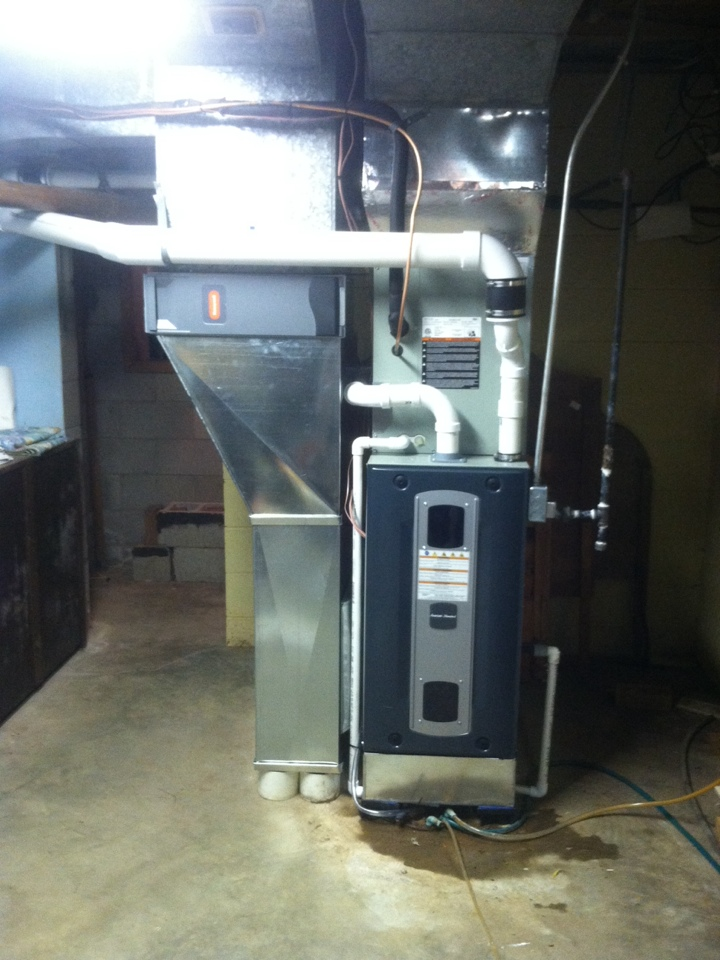 Brownsburg, IN - Installed 90 % furnace ac and coil