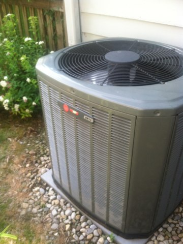 Carmel, IN - Repairs on a Trane air conditioner