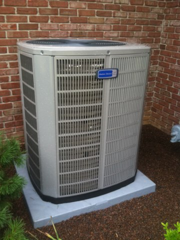 Danville, IN - Repairs on a American standard air conditioner