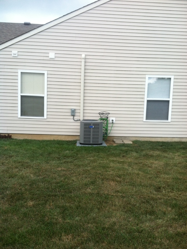 Danville, IN - Installed 80 percent furnace ac coil and humidifier