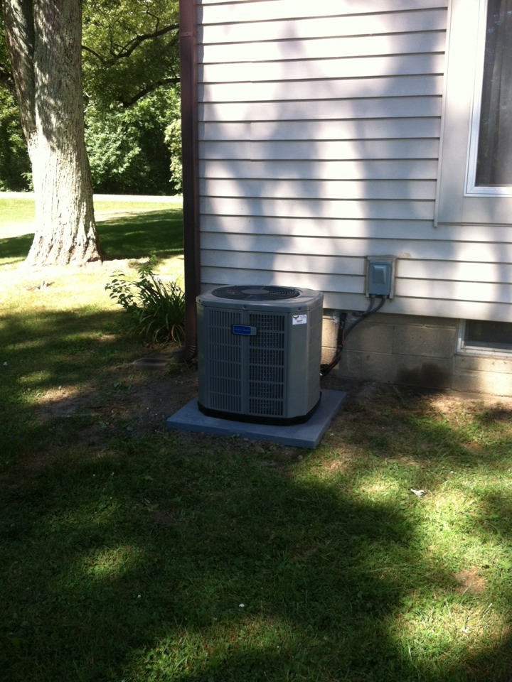 Stilesville, IN - Installed new a/c