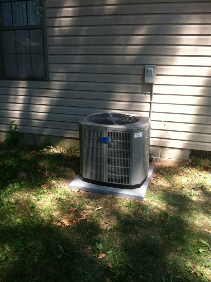 Indianapolis, IN - Installed new a/c