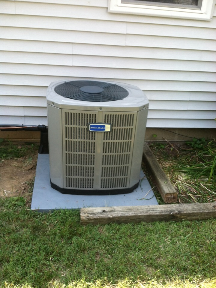 Greencastle, IN - Installed 90 % furnace ac and coil