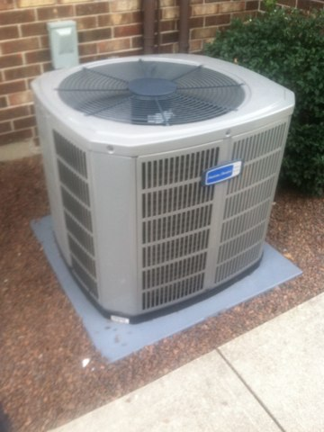 Mooresville, IN - Repairing a American Standard air conditioner