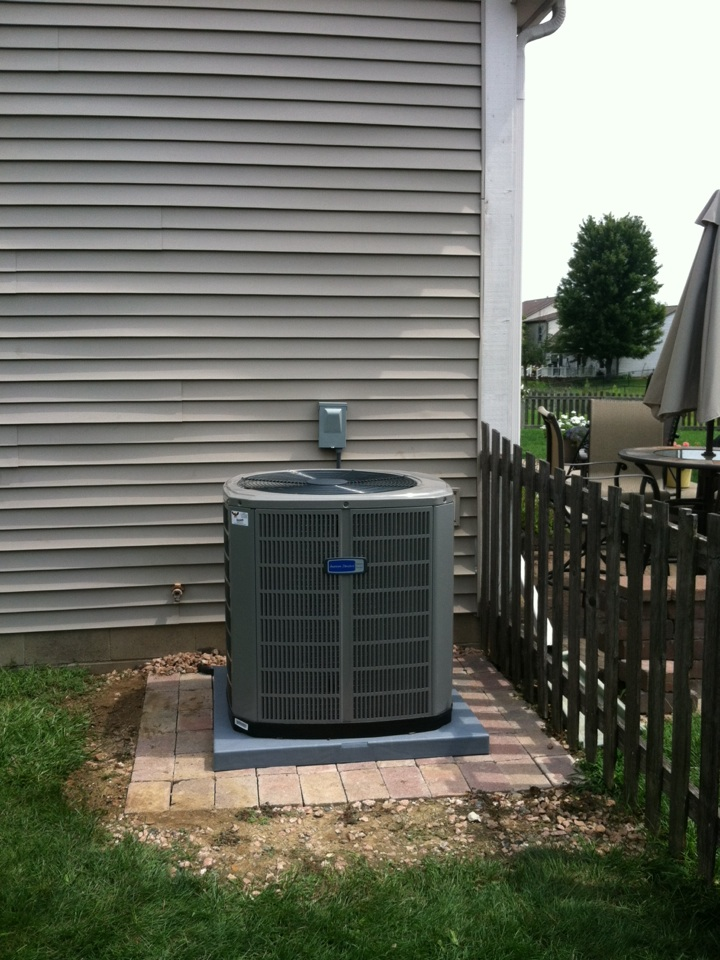 Avon, IN - Installed new a/c