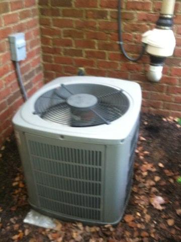 Zionsville, IN - Repairing a American standard air conditioner