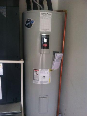 Plainfield, IN - Repairing a Bradford White hot water heater