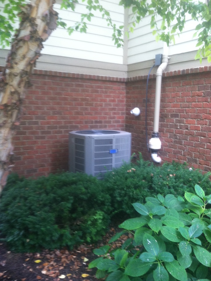 Zionsville, IN - Installed 90 % furnace ac and coil