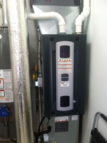 Greenwood, IN - Repairing a American standard gas furnace