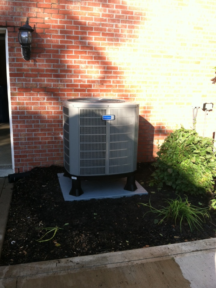 Carmel, IN - Installed new system