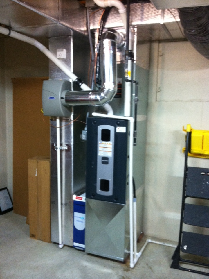 Mooresville, IN - Installed new system